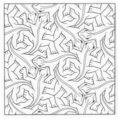 escher coloring pages.html