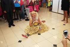 Betsey Johnson split. This lady is 70! She is seriously awesome!