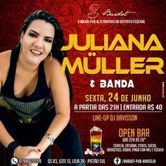 #VEJA Bardot Pub: Juliana Müller e Banda #agenda @paroutudo via ParouTudo http://ift.tt/294J1H6 #Raynniere #Makepeace