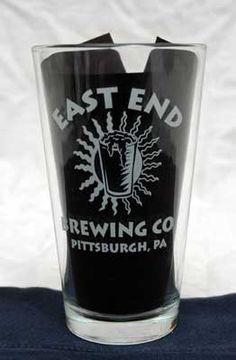East End Logo Pint Glass