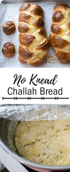 This is the easiest, best tasting challah in the entire world! This bread is so easy, there is literally no kneading, but you do need to plan ahead. Check out this must-have recipe!