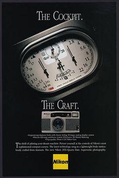 1993 Nikon 35Ti original print ad