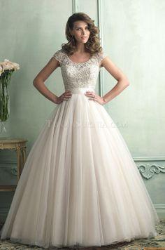 Vestidos de noiva Allure 9100 2014