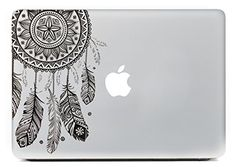 "iCasso Dream Catcher Removable Vinyl Decal Sticker Skin for Apple Macbook Pro Air Mac 13"" inch / Unibody 13 Inch Laptop iCasso"