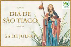 Amigo e companheiro fiel de Jesus. Padroeiro da Espanha.
