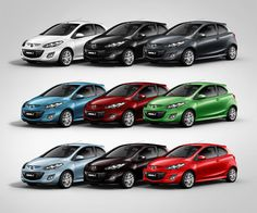 Mazda 2  Car June 2013-I think these cars are so cute and wouldn't mind having one