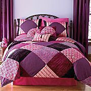 Bedding inspiration for big girl room Big Girl Rooms, Kids Rooms, Purple Quilts, Twin Comforter Sets, Bedding Inspiration, Quilted Bedspreads, All Things Purple, Square Quilt, Bed Spreads
