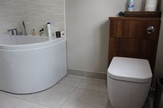 A recent completed bathroom installation by Beyond Bathrooms. In the Camberley area. Bathroom Fitters, Bathroom Installation, Bathrooms, Toilets, Bathroom, Bath, Bathing, Toilet