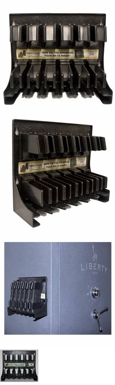 Ammunition Cases and Cans 177886: Ar 15 Magazine Accessories Storage Gun Holder Mag Solutions 100% Plastic Rack -> BUY IT NOW ONLY: $52.58 on eBay!