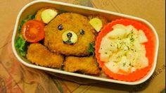 Croquette bear..perfect summer lunch..yumm