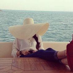 Big floppy hats :)