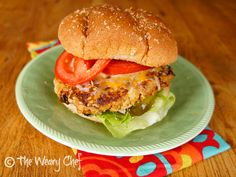 Buffalo Turkey Burgers - Awesome! Used 1.3 lb turkey, added some Worsteshire sauce, subbed some feta for blue cheese