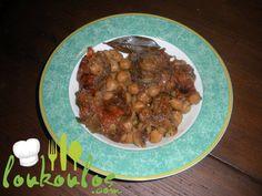 Ρεβίθια στο φούρνο (μια συνταγή από Σίφνο) Healthy Meals, Healthy Recipes, Snack Recipes, Snacks, Greek Recipes, Sweet Sixteen, Salads, Beef, Ethnic Recipes