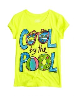 Cool By The Pool Graphic Tee