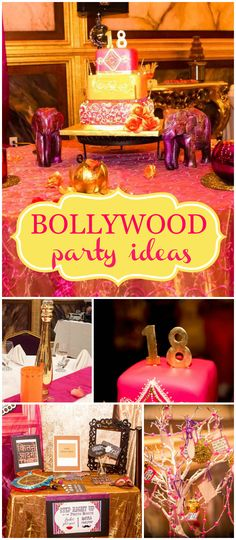 Such a gorgeous Bollywood party! Love the jewel  tones! See more party planning ideas at CatchMyParty.com!