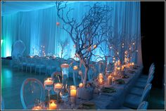 winter wonderland wedding theme ideas the minimalist nyc intended for winter wonderland wedding decorations Winter Wedding Receptions, Winter Wedding Decorations, Reception Ideas, Purple Winter Weddings, Purple Wedding, Winter Wonderland Wedding Theme, Wonderland Party, Winter Theme, Winter Diy
