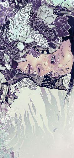 Digital art illustration // Illustrations 2013 on Behance
