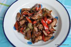 ceafa de porc marinata feliata cu legume la tigaie savori urbane