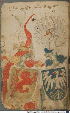 Ortenburger Wappenbuch Bayern, 1466 - 1473 Cod.icon. 308 u  Folio 65v