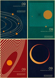 Here are some retro posters, created in a 60s/70s style, by Simon Page