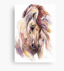 Colored Horse Art Print by Kelley Meredith Art -