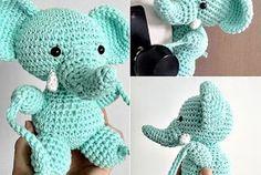 Crochet Gratis, Crochet Toys, Knit Crochet, Baby Knitting Patterns, Crochet Patterns, Handmade Baby Gifts, Handmade Toys, Crochet Curtains, Amigurumi Toys