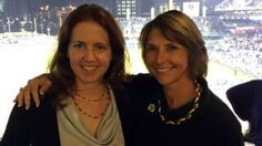 Erin Gibson Allen (left) with Judge Lisa Pupo Lenihan Pittsburgh City, Changing Jobs, Image Caption, Career Change, Bbc News, Ms, People, Children, Business