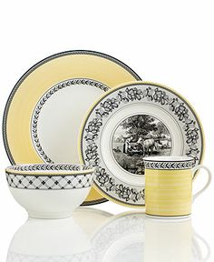 Villeroy & Boch Dinnerware, Audun Dinnerware - Casual Dinnerware - Dining & Entertaining - Macy's