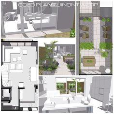 low budget ontwerp voor interieur en tuin #SketchUp