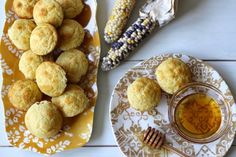 colonial williamsburg indian corn muffins | a cup of mascarpone