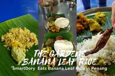 The Garden Banana Leaf Rice Penang 2 Coriander Seeds, Fennel Seeds, Banana Leaf Rice, Bitter Gourd Fry, Sources Of Soluble Fiber, Parboiled Rice, Banana Blossom, Masala Spice, Flavored Rice