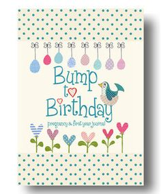 Bump to Birthday, Pregnancy & First Year Baby Journal : an award-winning journal / diary to help you hold onto memories of the growing bump, the birth . first year with your baby