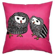 GULÖRT Cushion cover - I know, it's pink and I STILL Love it! ...too bad sold out and not expected to be in again at Baltimore Store...all I wanted was some owls and they were all out of all of them!