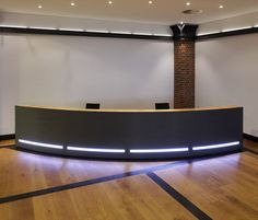 Reception desk Plan W
