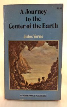 A-Journy-to-the-Center-of-the-Earth-Paperback-Book-By-Jules-Verne Jules Verne, Paperback Books, Earth