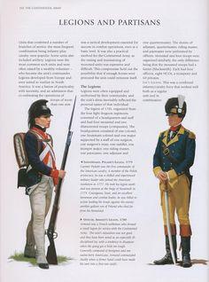 infanterie américaine guerre d'indépendance