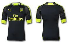 Camisas do Arsenal 2016-2017 Puma Terceira