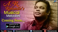 A R Rahman's Musical Melodies App Coming Soon On Google Play - Promo Video