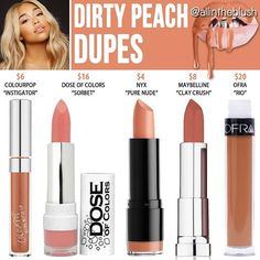 #DIRTYPEACH DUPES ARE HERE Please leave me your requests in the comments! … Nail Design, Nail Art, Nail Salon, Irvine, Newport Beach