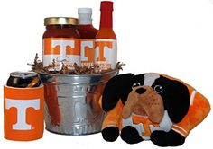 University of Tennessee Tailgate Grilling Gift Basket - Large