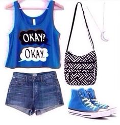"Fun summer outfit for ""The fault in our stars"" fans."