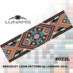 Personalized Photo Charms Compatible with Pandora Bracelets. Loom bracelet pattern, loom pattern, square stitch pattern, pdf file, pdf…