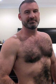 Hairy mature naked man agree