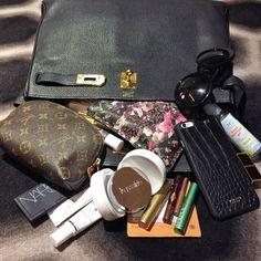 Rachel's in-flight essentials
