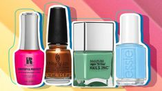 Chuck the deuces to spring and usher in a new season with any of these vibrant, in-your-face summer nail polish shades. Opi Gel Polish, Summer Nail Polish, White Nail Polish, Nail Polish Colors, Spring Nail Colors, Spring Nails, Summer Nails Almond, Nailart, Gel Nail Tips
