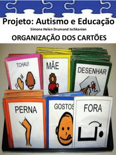 Projeto: Autismo e Educação Simone Helen Drumond Ischkanian ORGANIZAÇÃO DOS CARTÕES