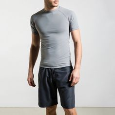 by Calm Collected Gray Color, Colour, Crew Clothing, Dark Grey, Palette, Calm, Man Shop, Board, Swimwear