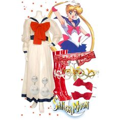 """Sailor Moon - Modest Version"" by sh0shan on Polyvore"