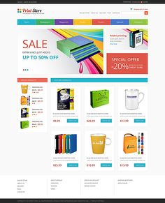 VirtueMart Theme #49326
