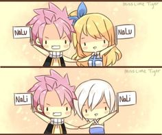 Which one nalu or nali vote hay I pick nalu xD Nali Fairy Tail, Fairy Tale Anime, Fairy Tail Ships, Natsu And Lisanna, Natsu And Lucy, Fairytail, Fariy Tale, Childhood Stories, Fairy Tail Couples